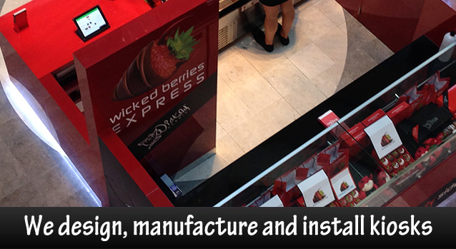 kiosk suppliers and designers